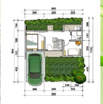 Denah Rubby Jade Park Serpong 2